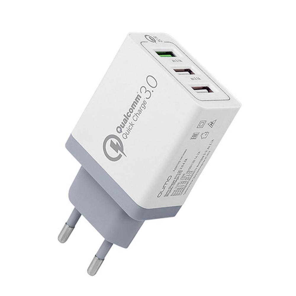 Зарядное устройство red line NQC-3A, УТ000015723 зарядное устройство red line nqc1 3a tech usb qc 3 0 black ут000015768