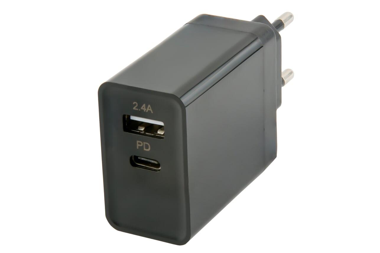 Зарядное устройство red line PD-3A, УТ000015304 зарядное устройство red line nqc1 3a tech usb qc 3 0 black ут000015768