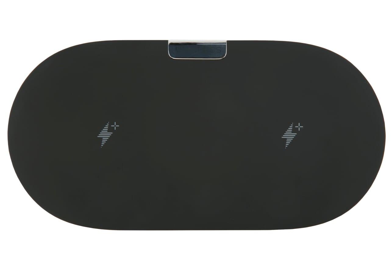 Беспроводное зарядное устройство red line Qi-06, УТ000015895, черный parrot zik 3 croc в комплекте с беспроводным зарядным устройством черный
