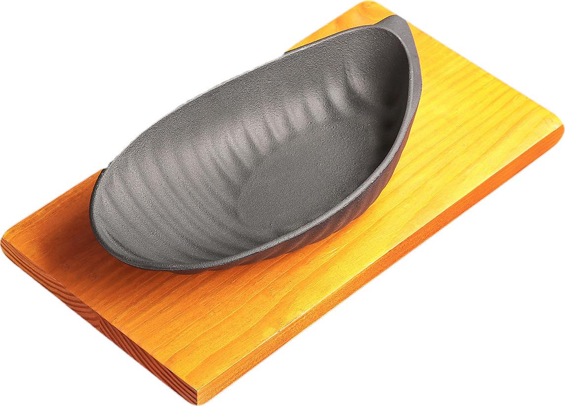 """Сковорода """"Улитка"""", 3584316, на подставке, 31 х 16,5 см"""