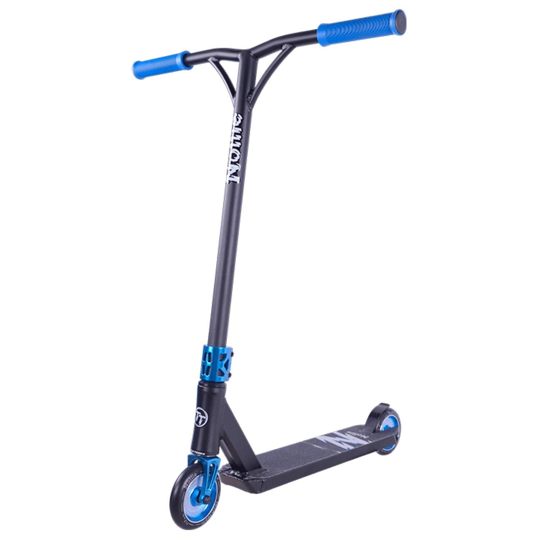Самокат TechTeam Nollie 110/110, TTNollie_чер_син, черный, синий трехколесный велосипед techteam 950d фиолетовый techteam