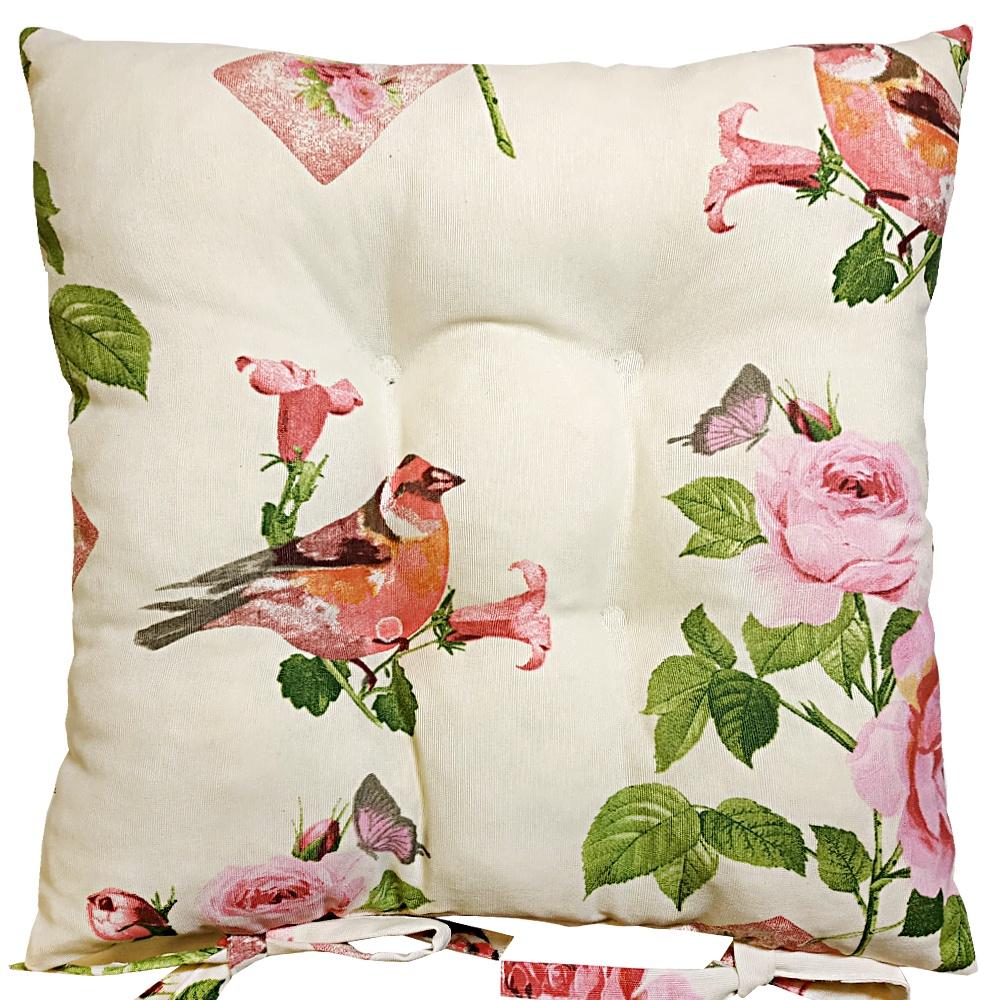 Подушка на стул Altali Бельфор, розовый подушки на стул altali подушка на стул с рисунком марселла лайн