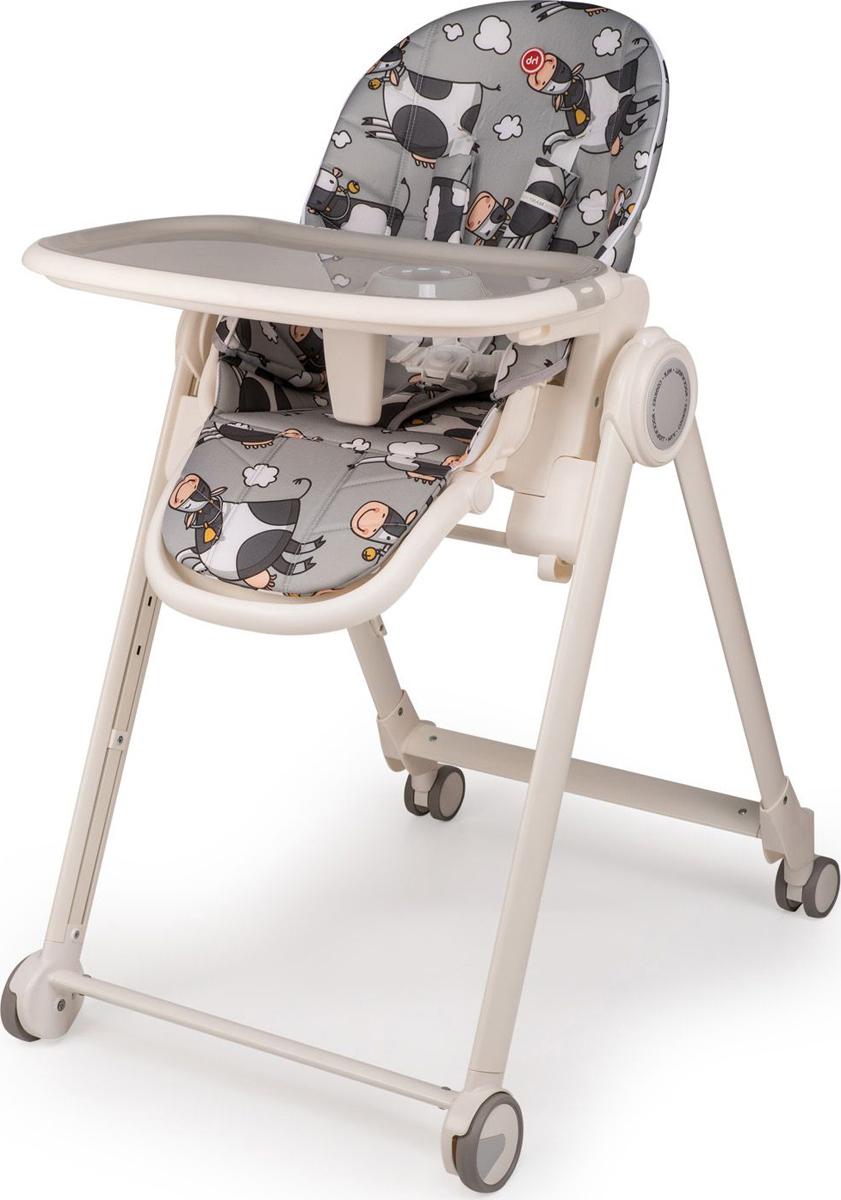 Стул для кормления Happy Baby Berny Basic, серый4690624027864Весёлые иллюстрации Berny Basic с мультяшными животными заинтересуют любого малыша и позабавят родителей. Изящная и прочная рама обеспечивает максимальную надежность и отлично вписывается в любой интерьер. Ширина сиденья: 34 см Глубина сиденья: 24 см Регулируемый столик: 3 положения по длине Регулируемая спинка: 3 положения наклона (107°/130°/148°) Регулируемая подножка: 3 положения наклона Задние поворотные колёса добавляют маневренности Крючок для складывания подноса Тормозной механизм на задних колёсах