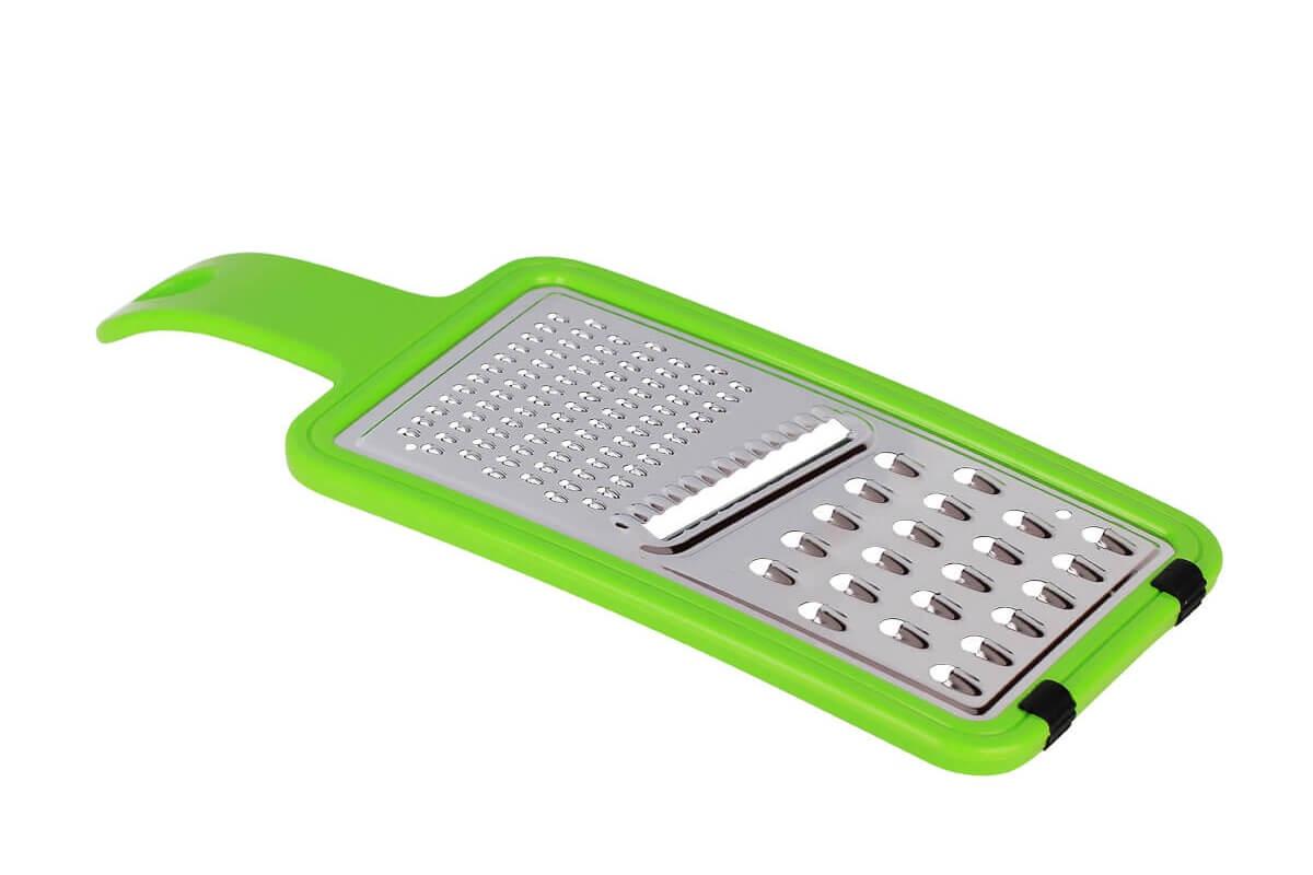 Фрукто-овощерезка MOULINvilla Терка универсальная с пластиковой ручкой, KGR-2 терка