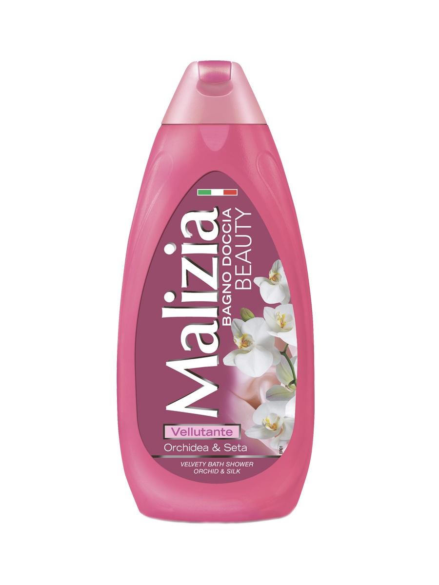 Гель для душа Malizia BEAUTY орхидея и шелк