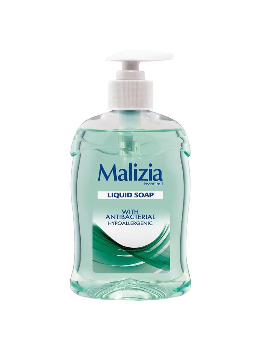 Жидкое мыло Malizia гипоаллергенное и антибактериальное