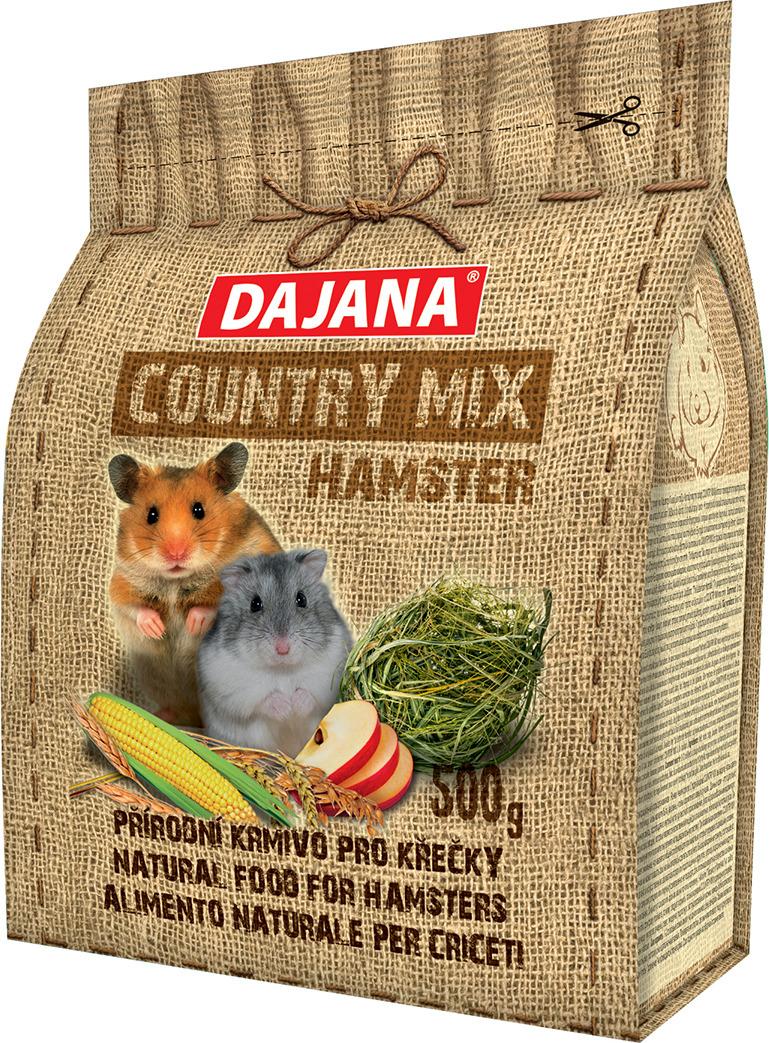 Корм сухой Dajana Country Mix, для хомяков, DP401J, 500 г