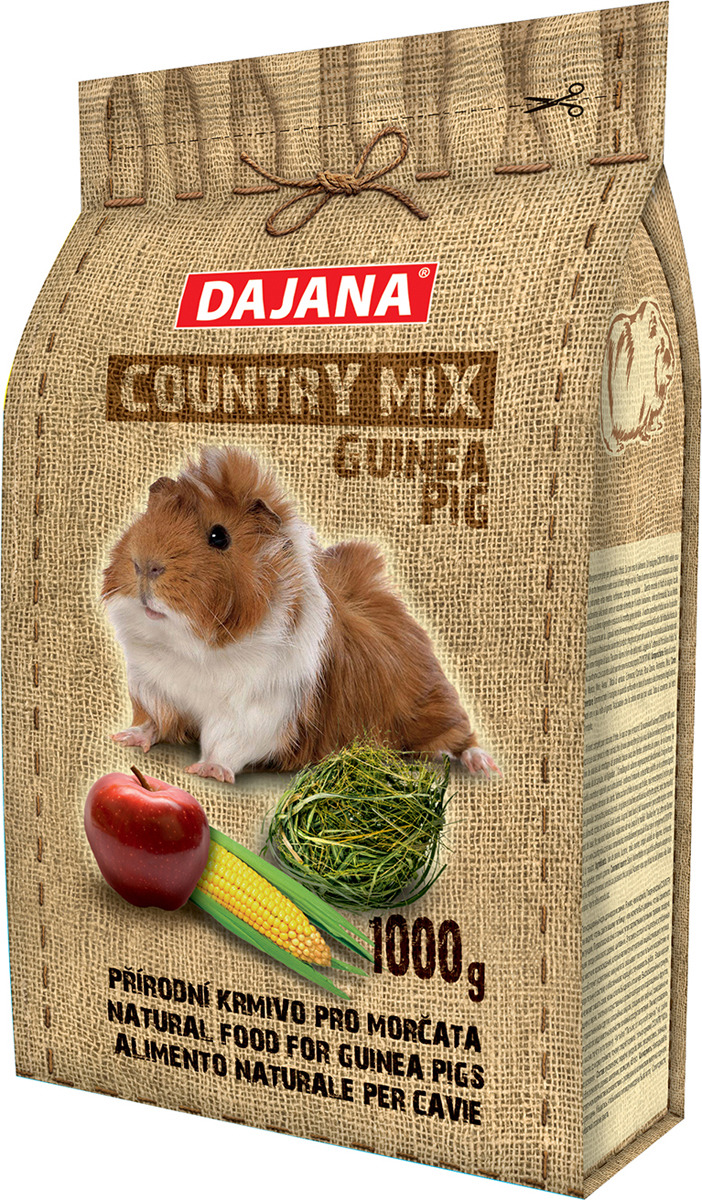 Корм сухой Dajana Country Mix, для свинок, DP402K, 1 кг