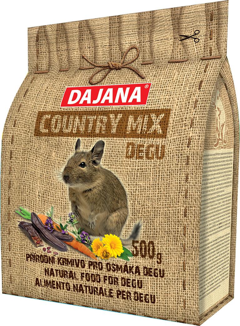 Корм сухой Dajana Country Mix, для дегу, DP405J, 500 г