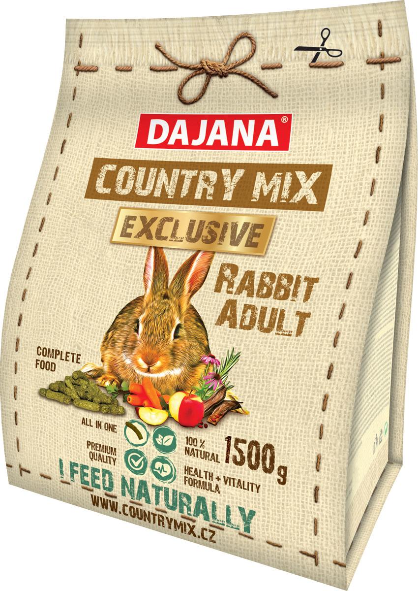 Корм сухой Dajana Exclusive, для кроликов, для взрослых, DP409K, 1,5 кг купить ростки пшеницы для еды