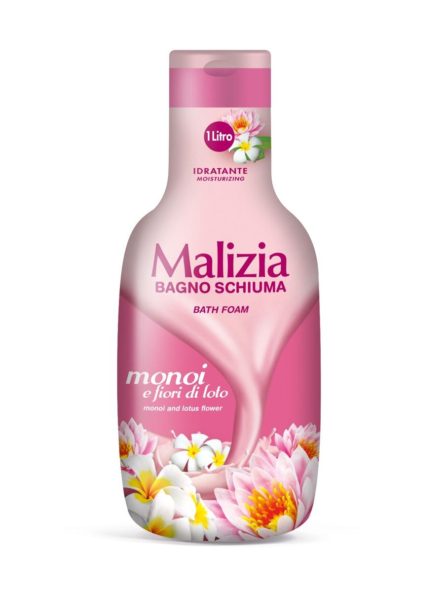 Пена для ванны Malizia для душа и ванны Монои и лотос