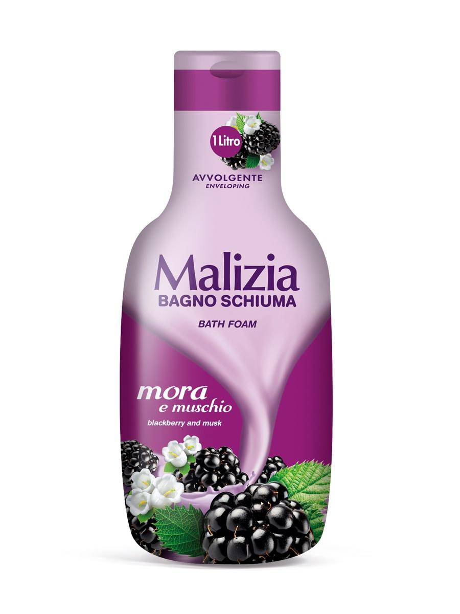 Пена для ванны Malizia для ванны MUSK BLACKBERRY malizia пена для душа и ванны тальк talco 1 л
