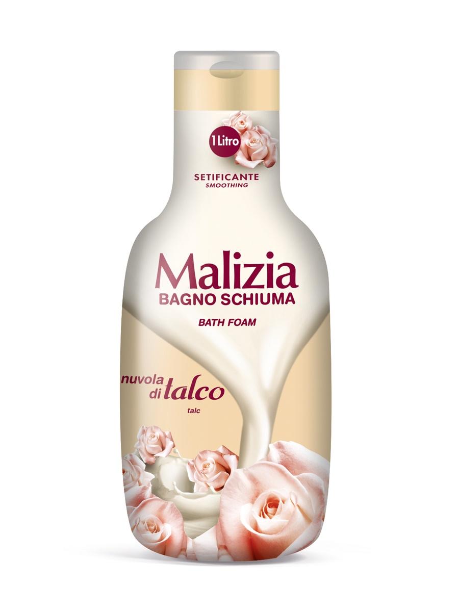 Пена для ванны Malizia для душа и ванны тальк