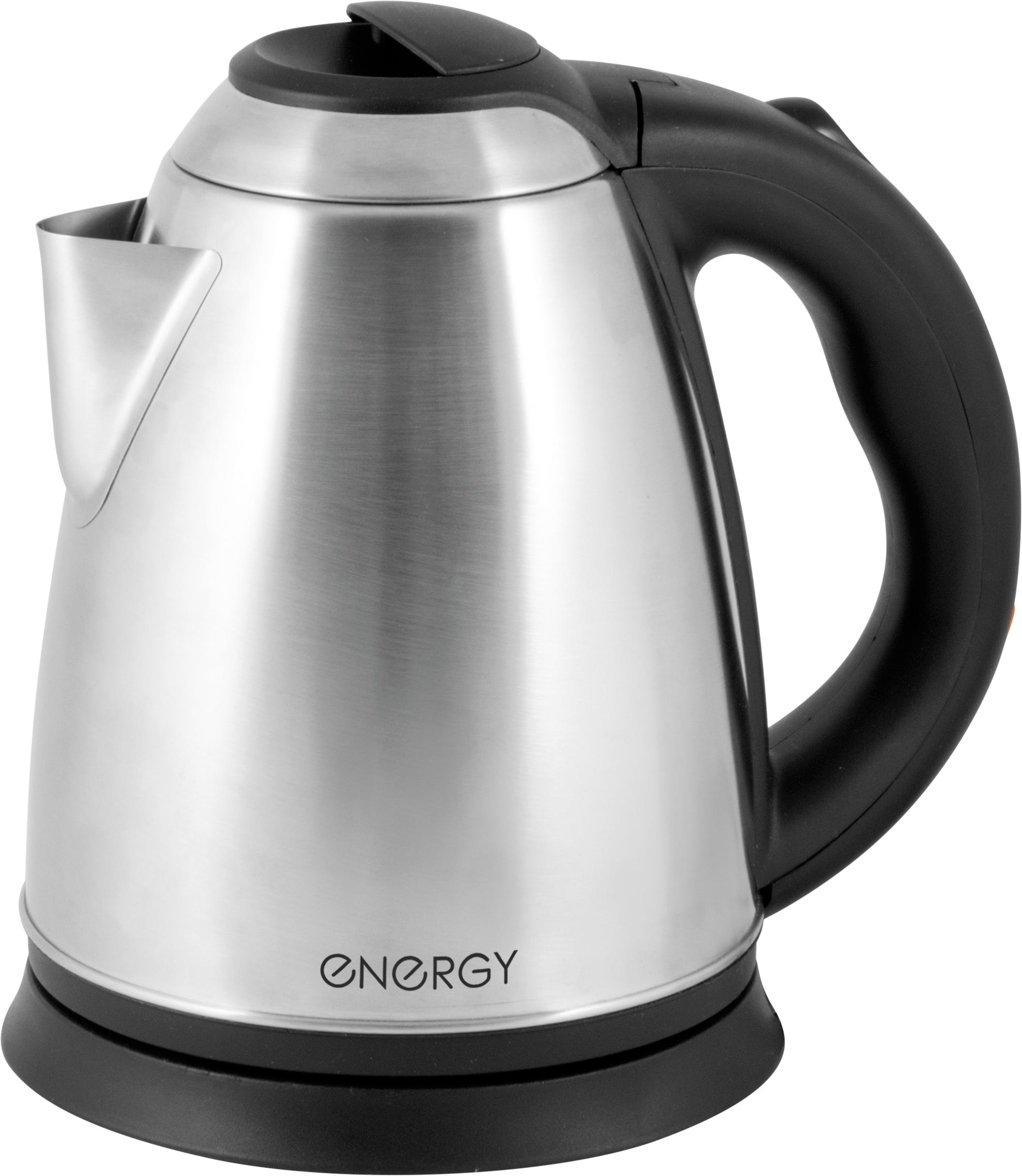 Электрический чайник ENERGY E-291, 54 004690, серебристый чайник leben 291 003
