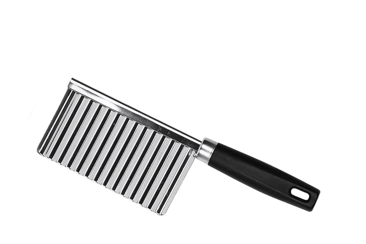 Кулинарный инструмент MOULINvilla KFC-stKFC-stНож для фигурной резки MoulinVilla выполнен из нержавеющей стали.
