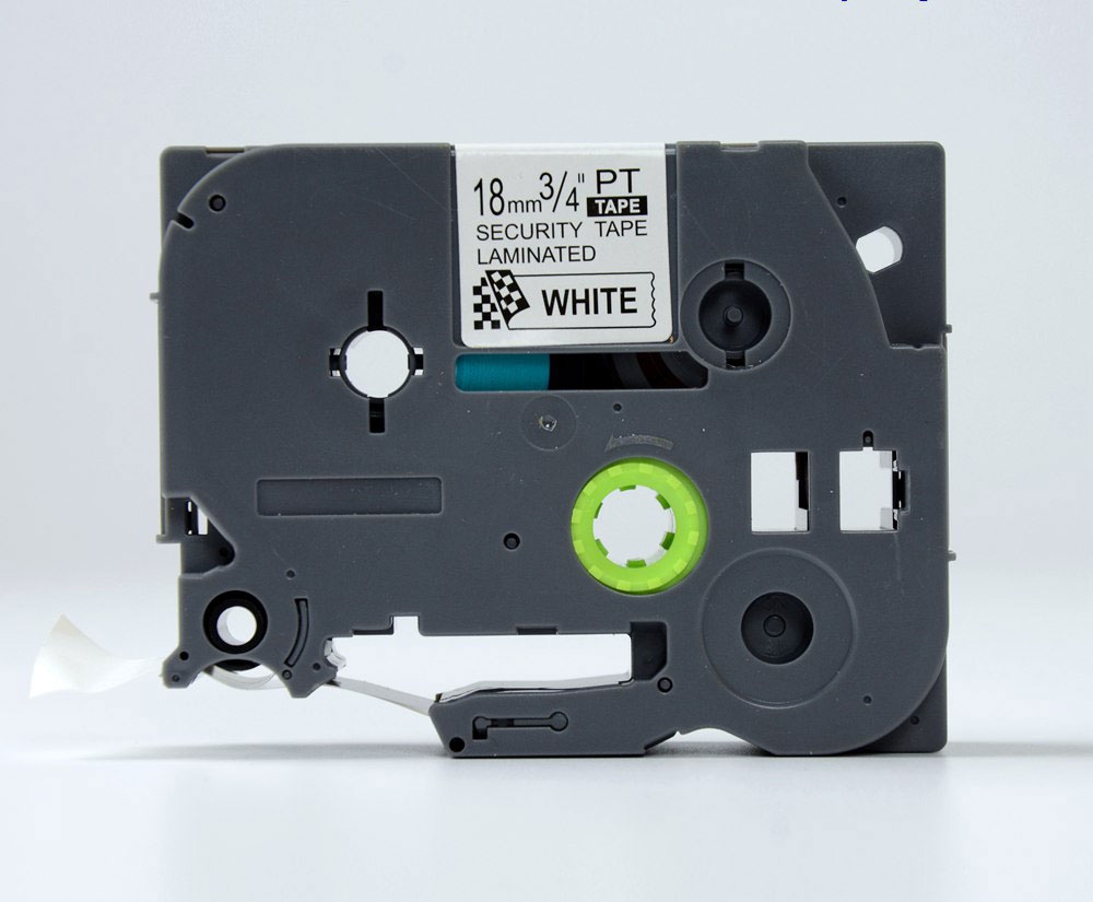 Лента печатающая ДляТахографа TZE-SE4 лента, наклейка, кассета (пломбировочная, саморазрушаемая) для Brother PT D450/D600/E300/2700/ P700/P750/E550/9700/P900/2430, 00000000157 rinzo pt 00092