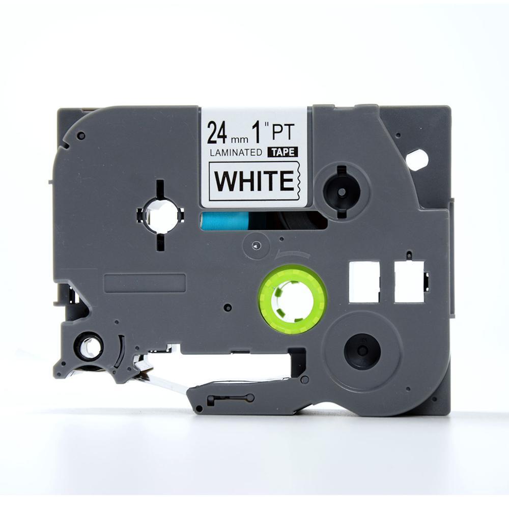 Лента печатающая ДляТахографа TZE-251 лента, наклейка, кассета для Brother PT D450/D600/E300/2700/ P700/P750/E550/9700/P900/2430, 00000000162 rinzo pt 00092