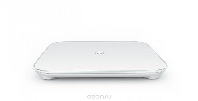 Напольные весы Xiaomi Умные весы Mi Smart Scale, белый, белый xiaomi mi body composition scale white весы напольные