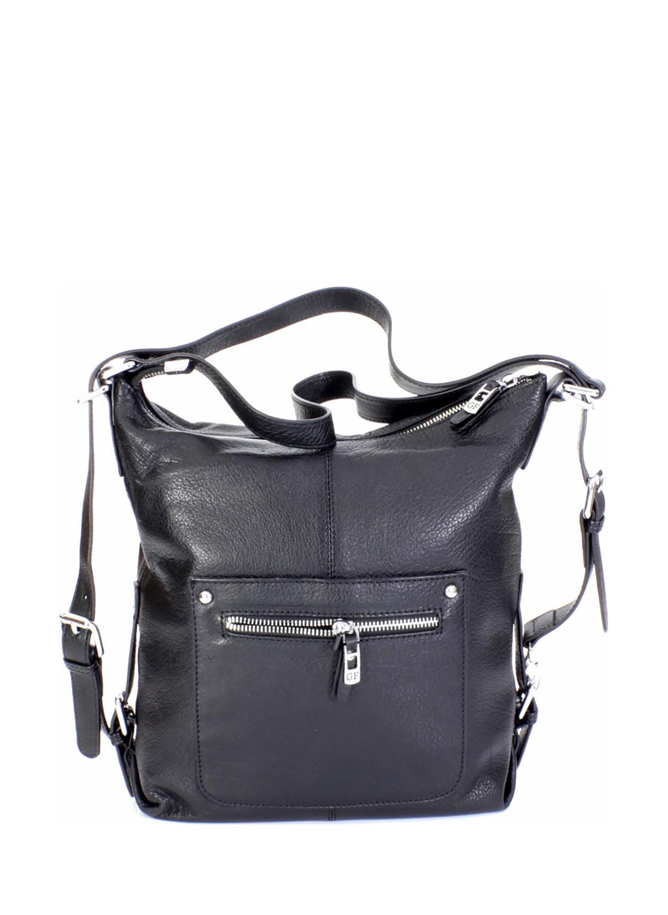 купить Сумка на плечо Giorgio Ferretti 9567-Q11 black GF, черный по цене 8999 рублей