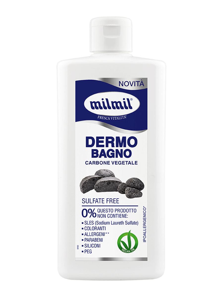 Пена для ванны MILMILдля душа with Carbone vegetale серии Dermo224-10300Нежная пена для душа с тонким, деликатным ароматом. Содержит в своем составе древесный уголь - натуральный компонент, известный своими очищающими, бактерицидными свойствами, способностью выводить токсины и вредные химические вещества. Мягко и бережно очищает кожу, не нарушая ее естественный липидный барьер. Подходит для ежедневного использования.