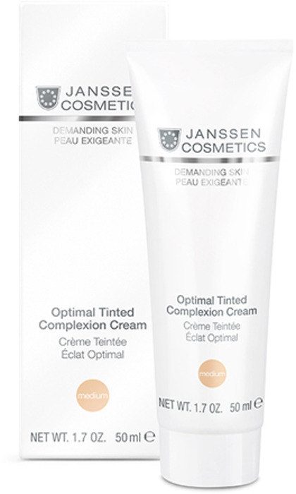 цена на Крем для ухода за кожей Janssen Оптимал Комплекс дневной, SPF 10, 50 мл
