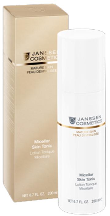 Тоник для кожи Janssen Micellar Skin с гиалуроновой кислотой, 200 мл мицеллярный тоник с гиалуроновой кислотой mature skin