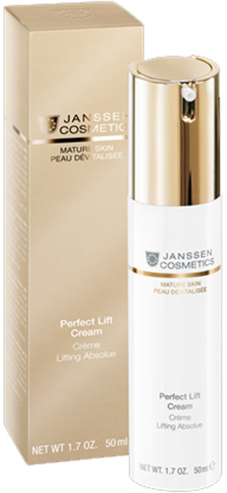 Крем для ухода за кожей Janssen Perfect Lift Cream Аnti-age с комплексом Cellular Regeneration, 50 мл janssen аnti age лифтинг крем с комплексом cellular regeneration perfect lift cream 150 мл