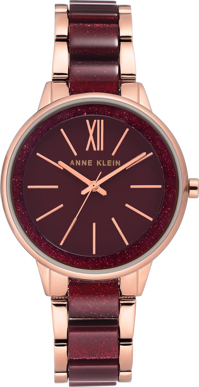Наручные часы Anne Klein женские бордовый все цены