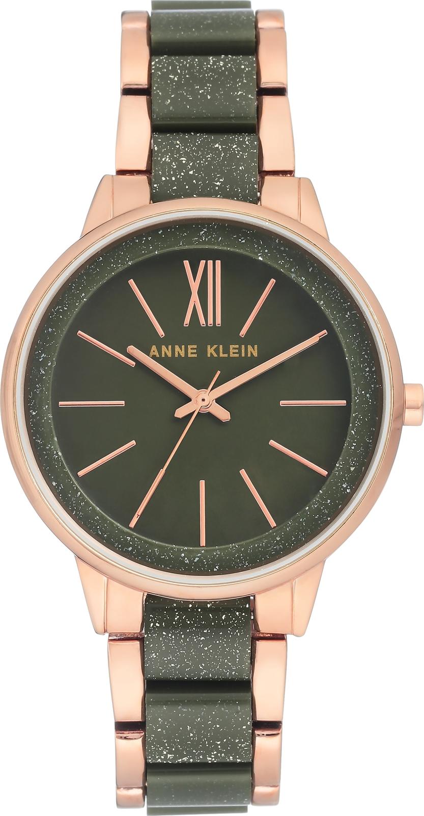 Наручные часы Anne Klein женские оливковый женские часы anne klein 3352pkst