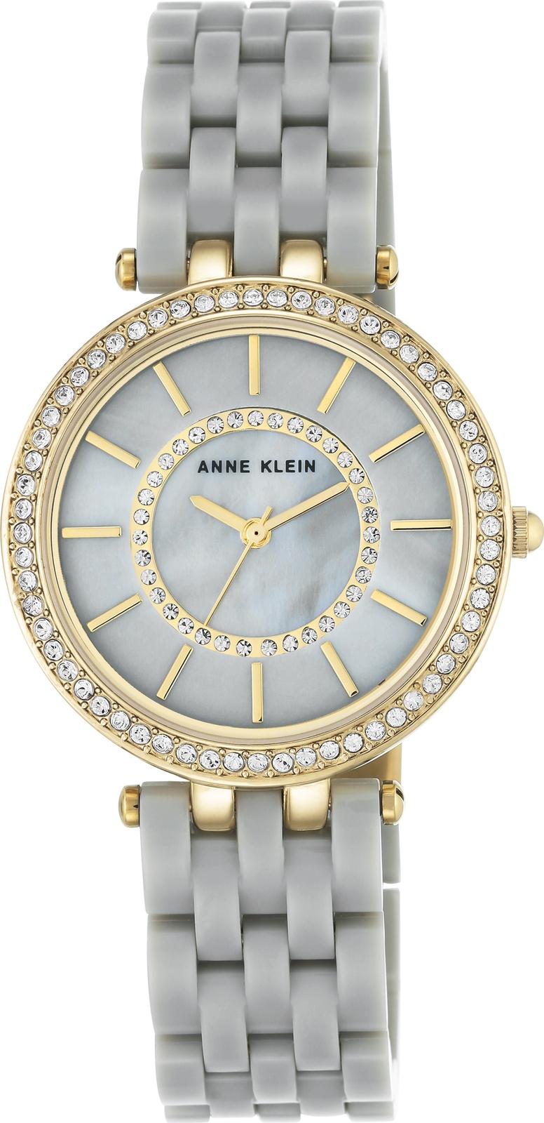Наручные часы Anne Klein женские светло-серый женские часы anne klein 3352pkst