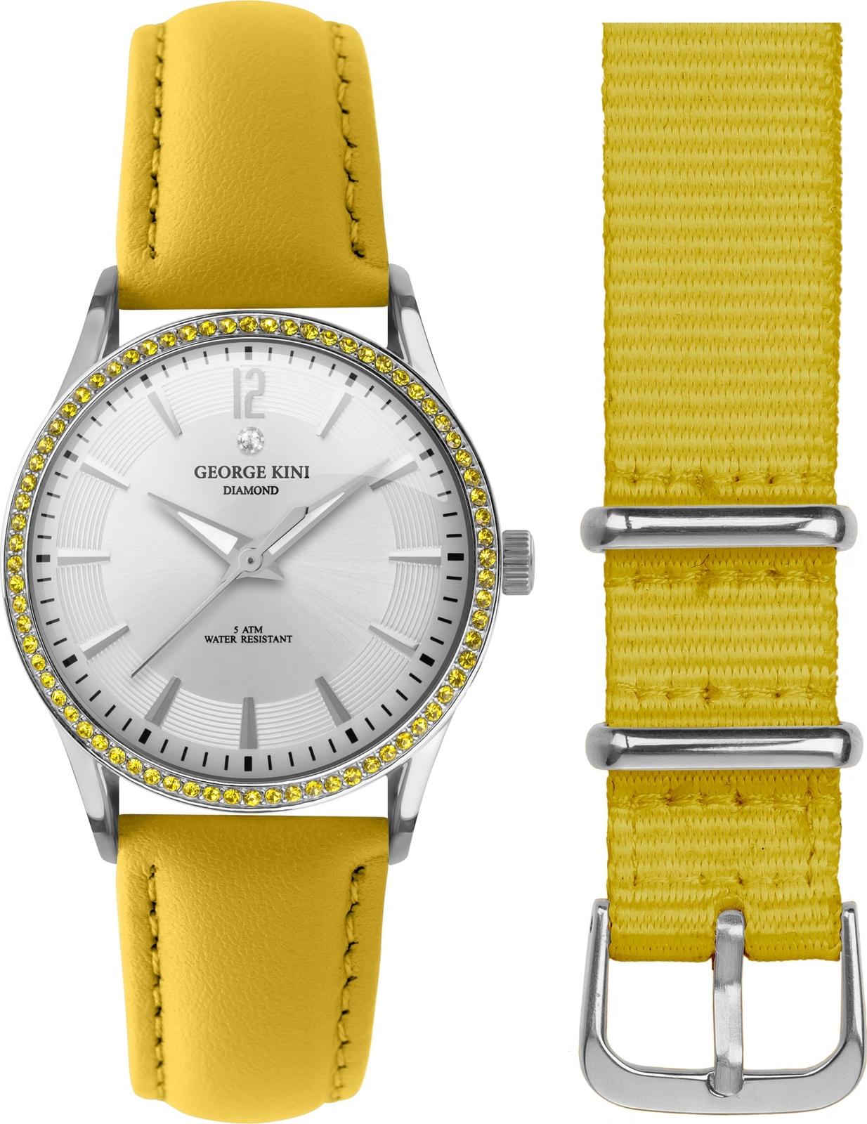 Наручные часы George Kini женские желтый