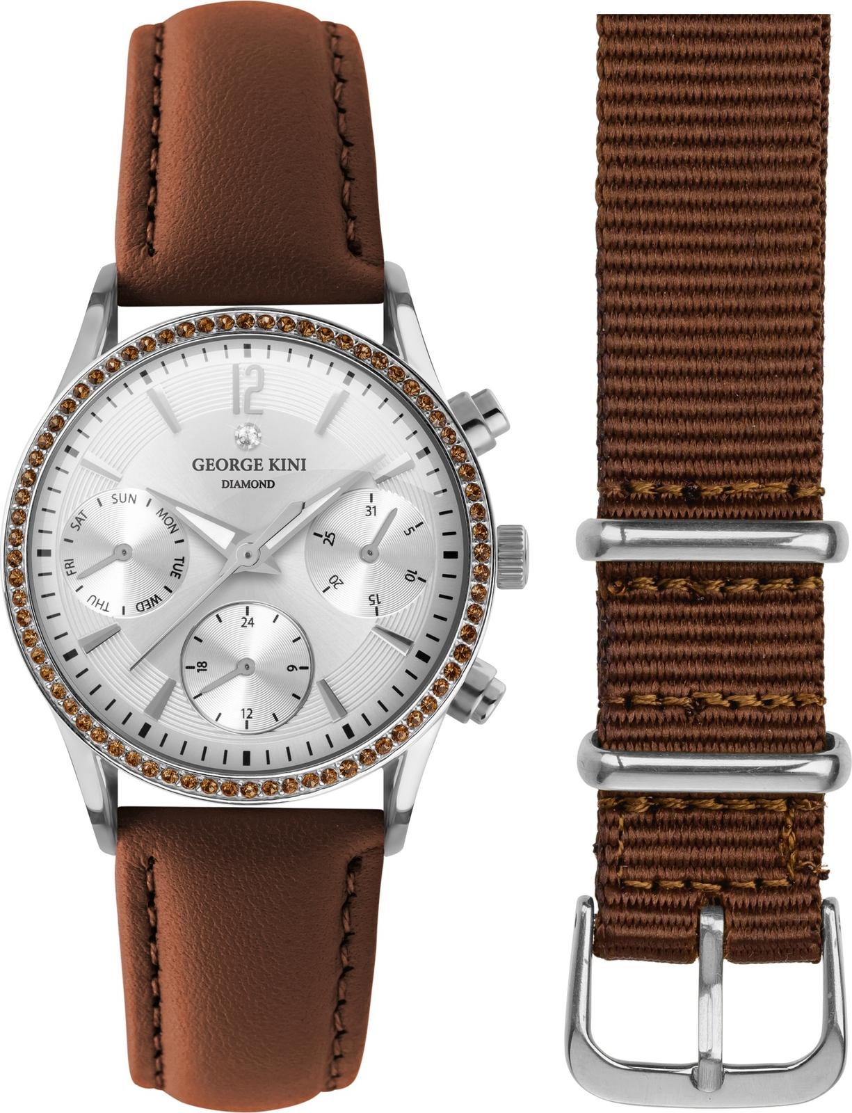 Наручные часы George Kini женские коричневый