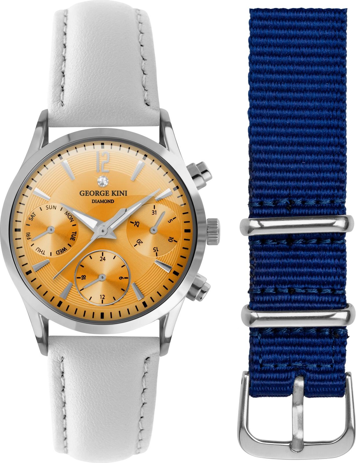 Наручные часы George Kini женские оранжевый
