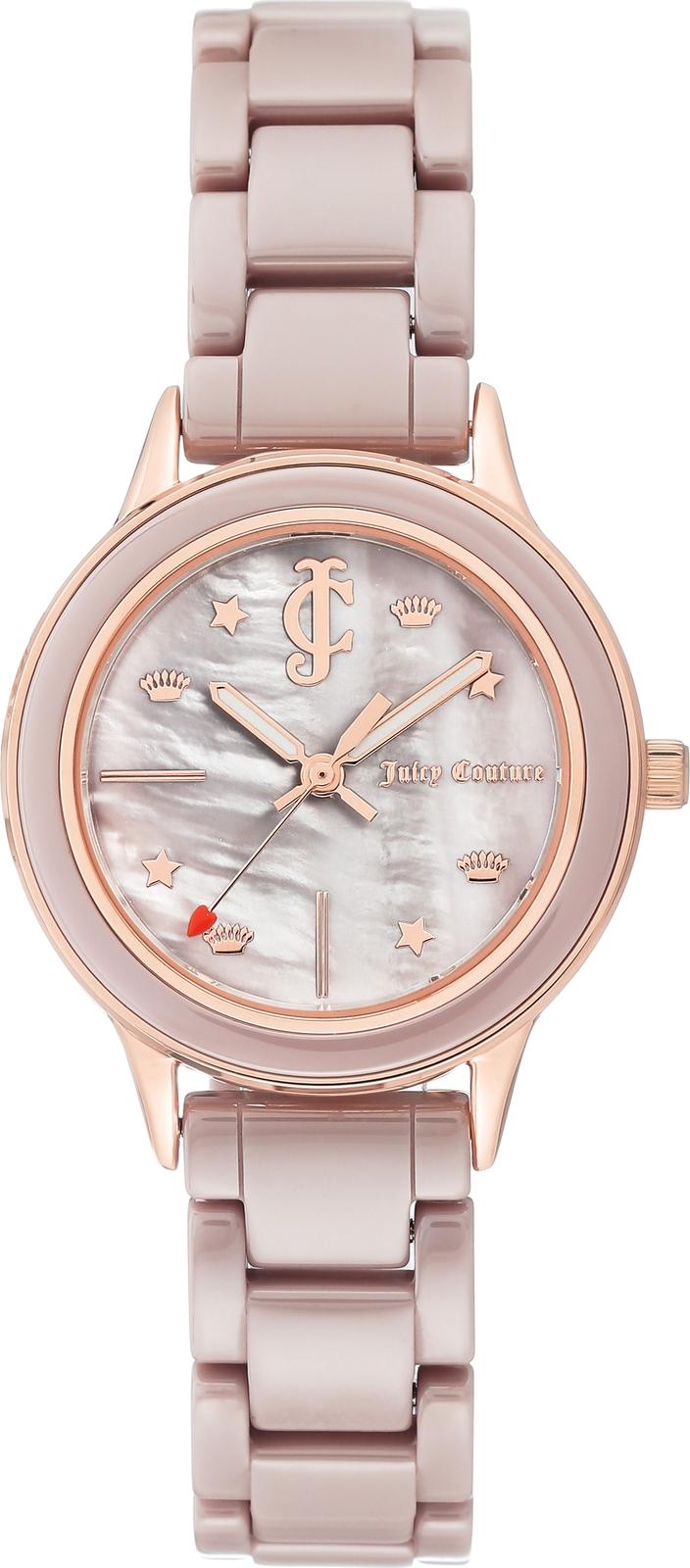 цена Часы Juicy Couture женские бежевый онлайн в 2017 году