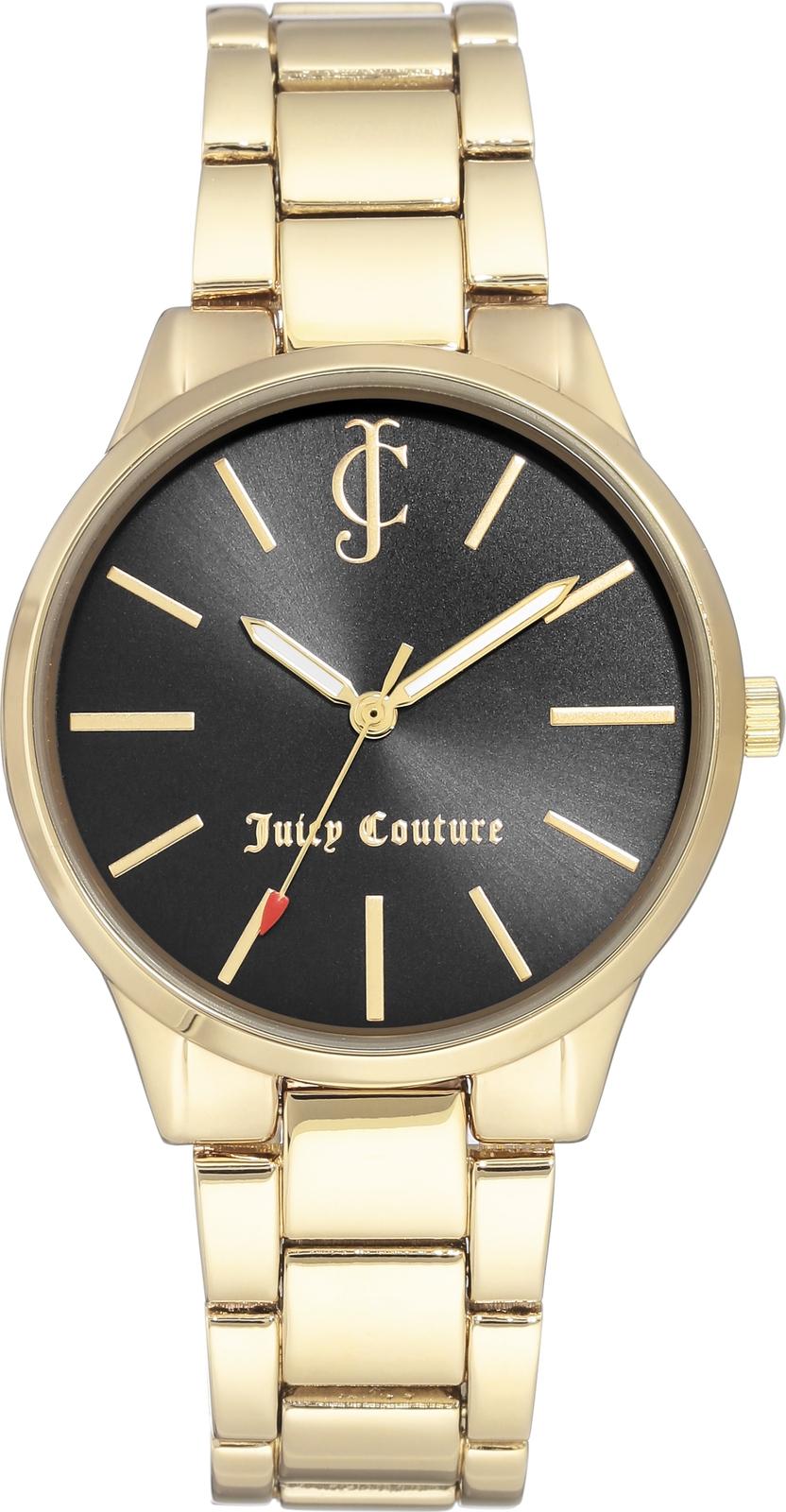 Часы Juicy Couture женские черный часы nixon time teller deluxe leather navy sunray brow