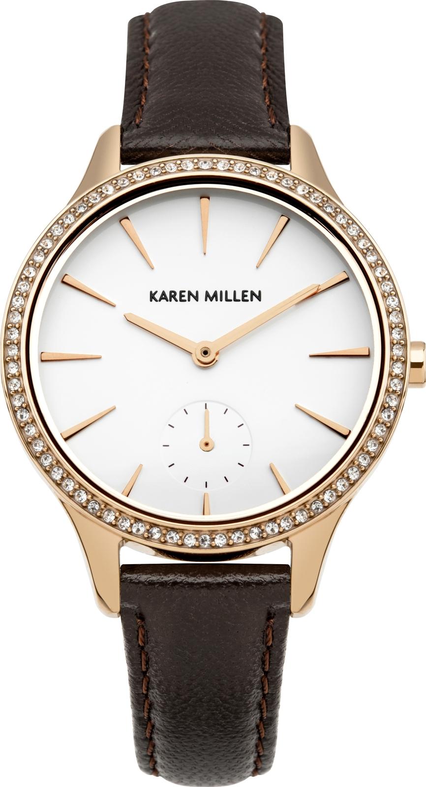 Наручные часы Karen Millen женские коричневый