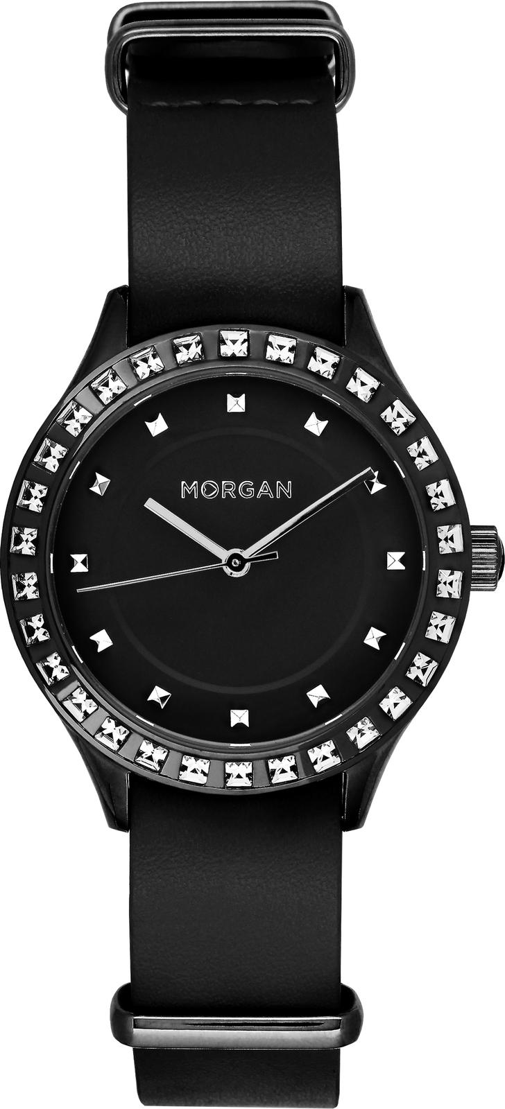 Наручные часы Morgan женские черный купить часы с механизмом miyota