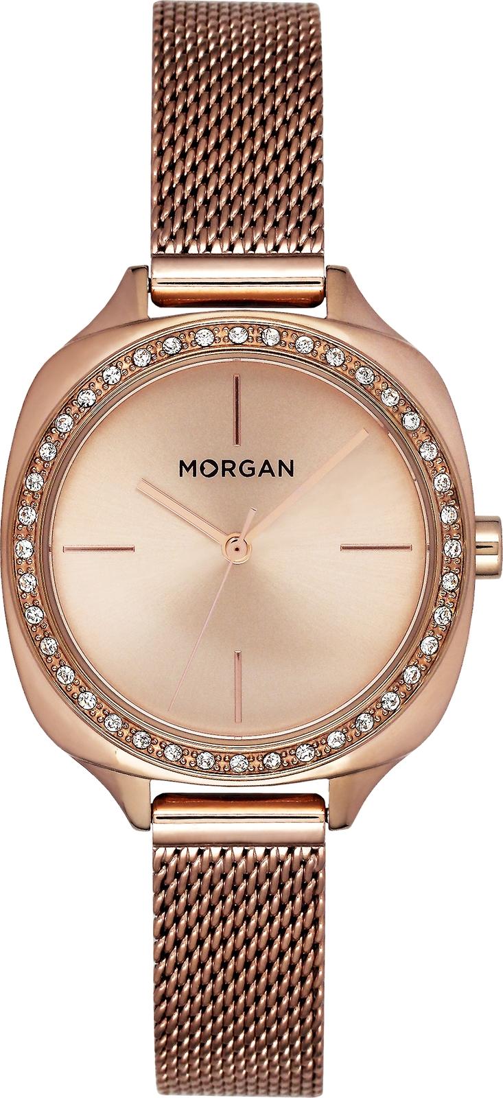 Наручные часы Morgan женские розовый купить часы с механизмом miyota