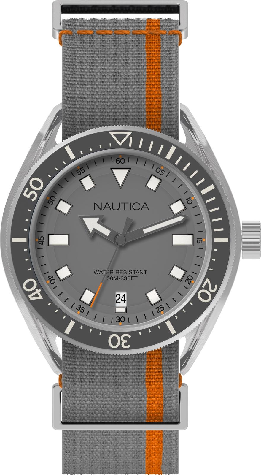Часы Nautica мужские серый все цены