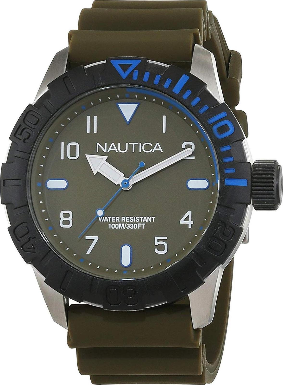 Наручные часы Nautica мужские оливковый все цены