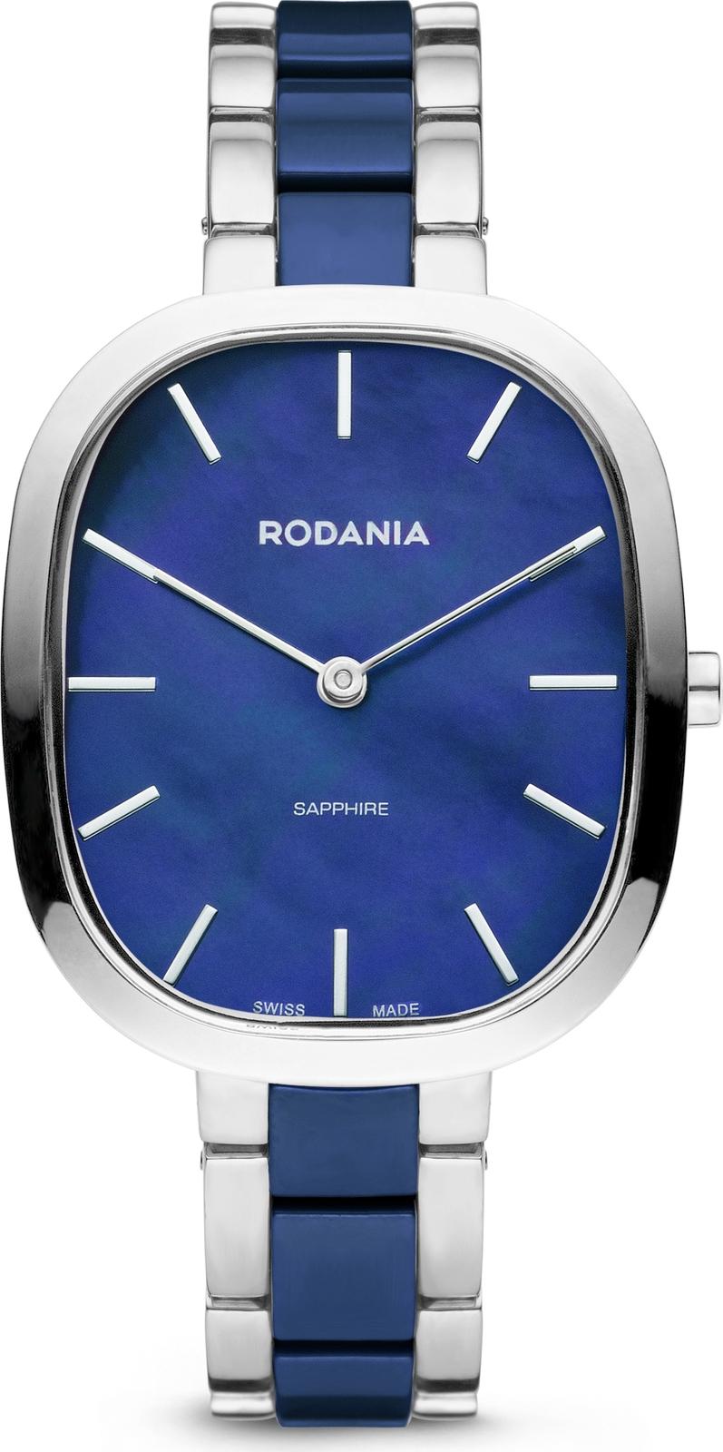 купить Наручные часы Rodania мужские синий по цене 20475 рублей