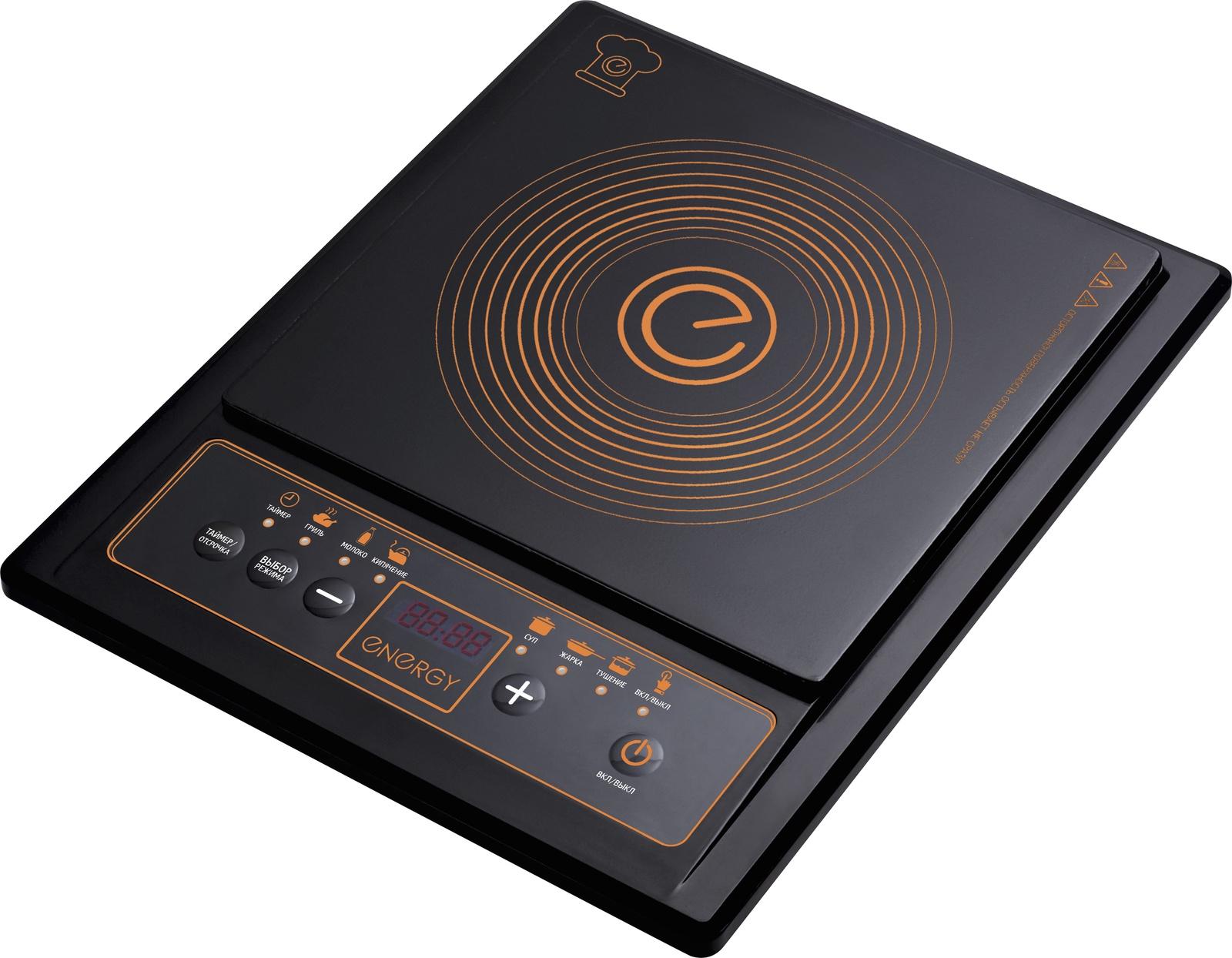 цена Настольная плита ENERGY EN-919, 54 159768, черный в интернет-магазинах