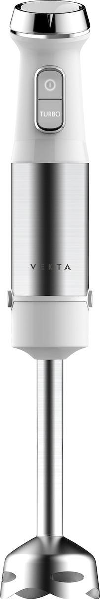 Блендер Vekta HBS-0703, белый, серый металлик свч vekta ms720atb 700 вт чёрный