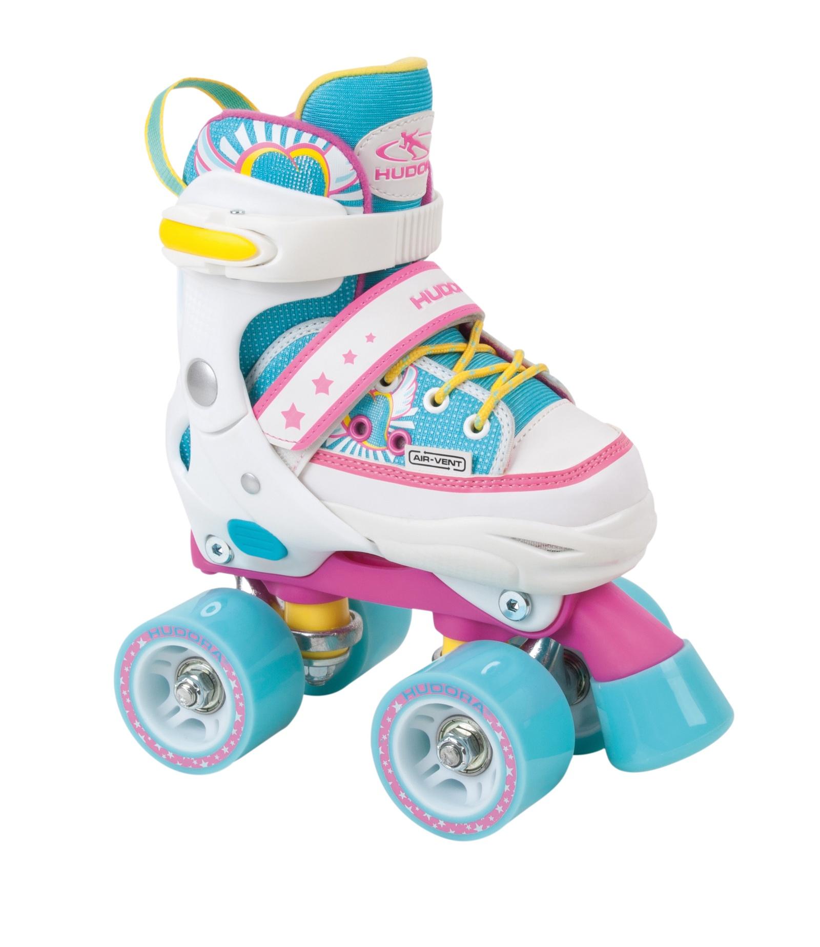 Коньки раздвижные роликовые Hudora ролики hy skate цена