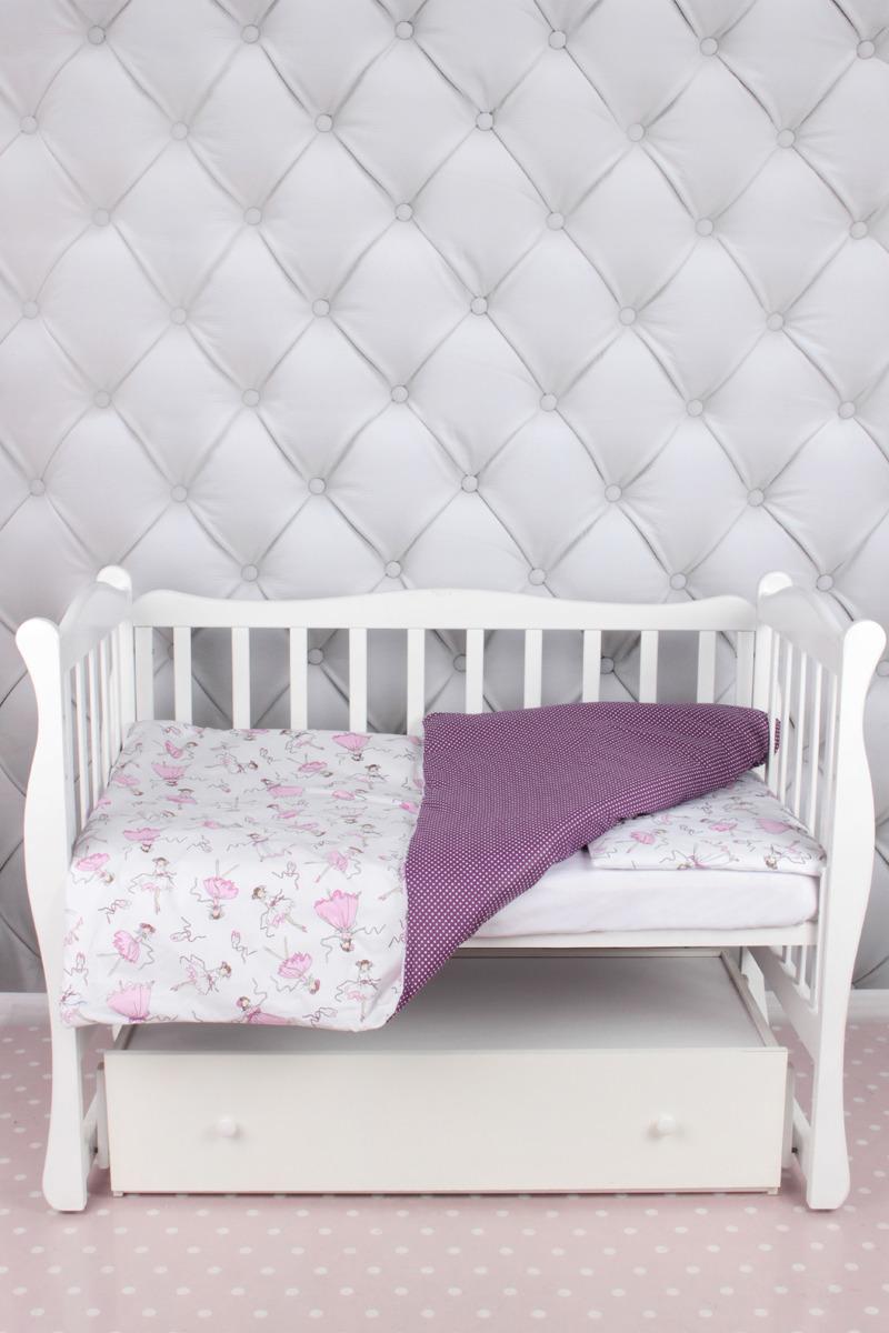 """Комплект в кроватку AmaroBaby """"Baby Boom. Амели"""", белый, 3 предмета"""