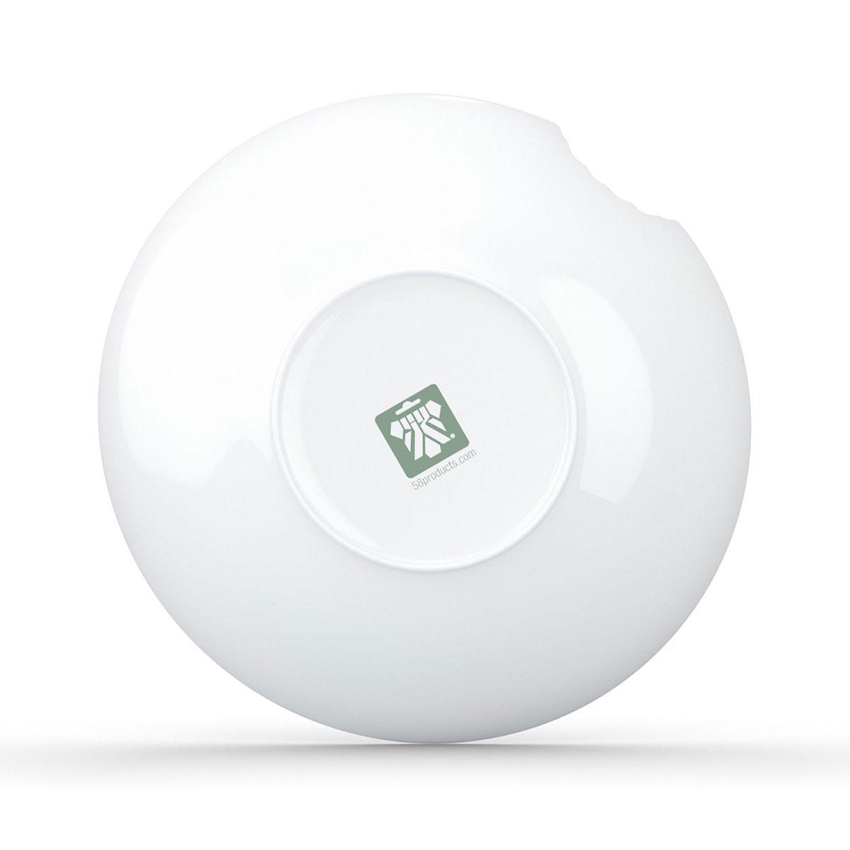 Тарелка глубокая Tassen со следом укуса, T01.76.01, T01.76.01, белый