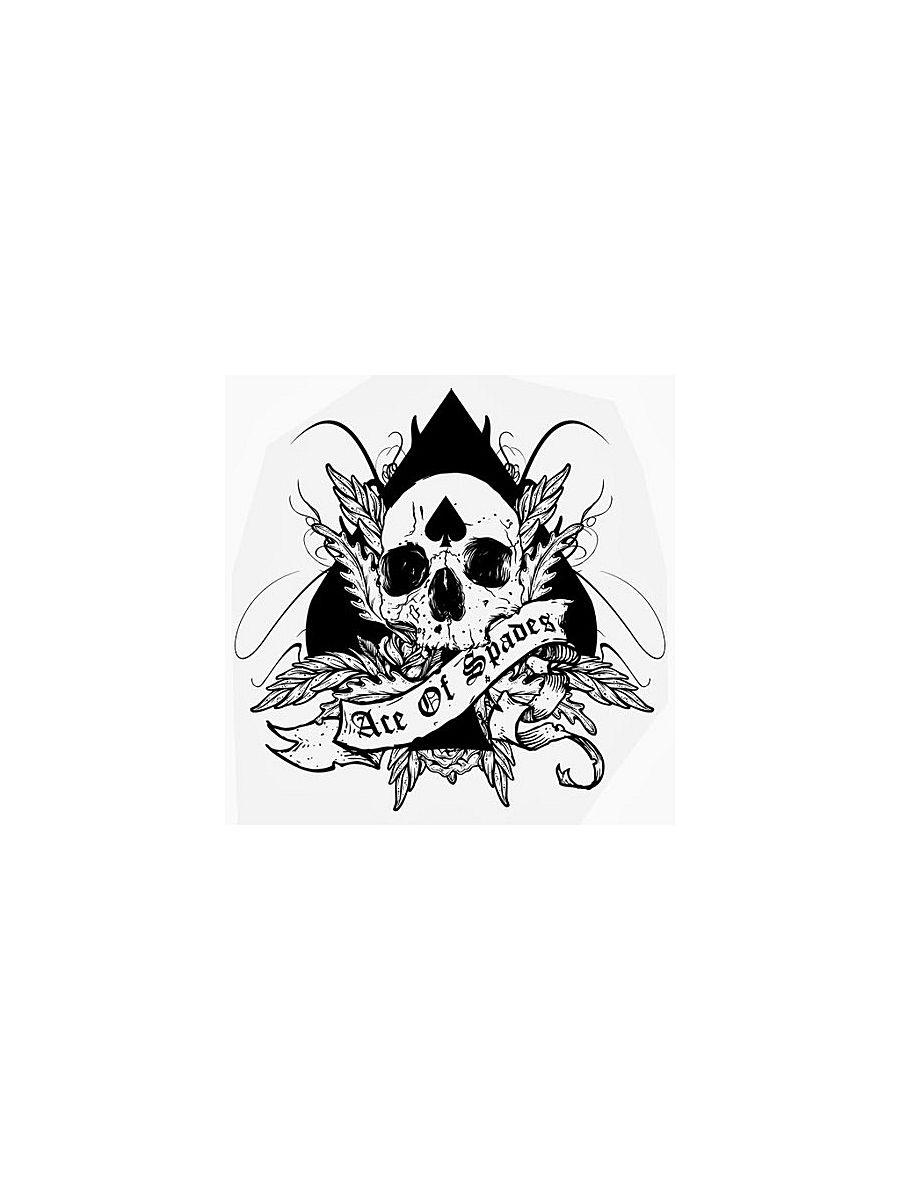 Переводное тату МнеТату Ace of spades цена и фото
