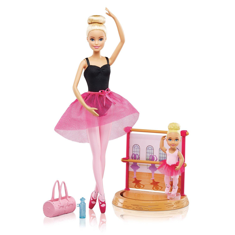 Игровой набор Barbie Barbie Игровой нбор Инструктор балета, DXC93