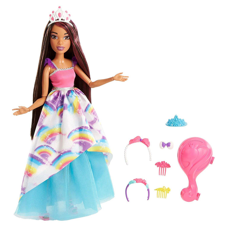 кукла барби с длинными волосами картинки бумаги своими