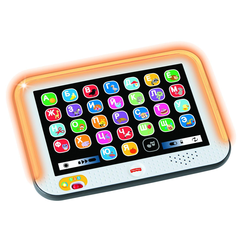 Игрушка FISHER-PRICE Смейся и учись обучающий планшет с технологией Smart Stage планшет fisher price